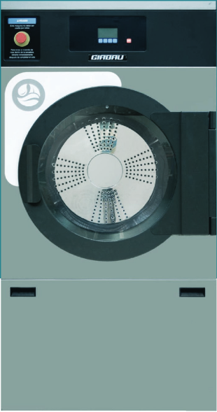 Dryer ED textile disinfection